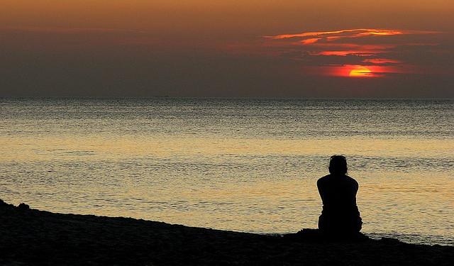 Gedachten kunnen verstillen in de directe ervaring met natuur