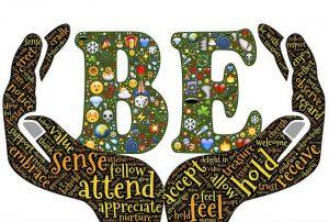 In het simpel aanwezig zijn kan een gevoel van eigenwaarde tot bloei komen
